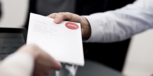 Materialer klar til teknisk dialog på Sagsoverblik/Partskontakt (SAPA)